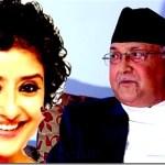 Nepal PM KP oli to meet Bollywood celebrities in Delhi