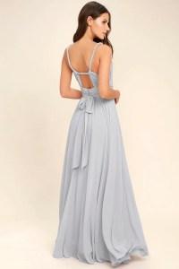 Lovely Light Grey Dress