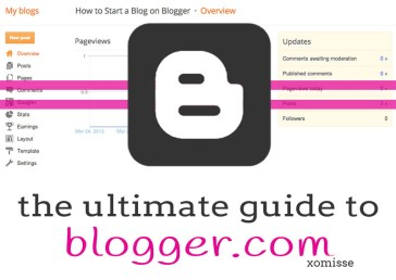 guide to blogger