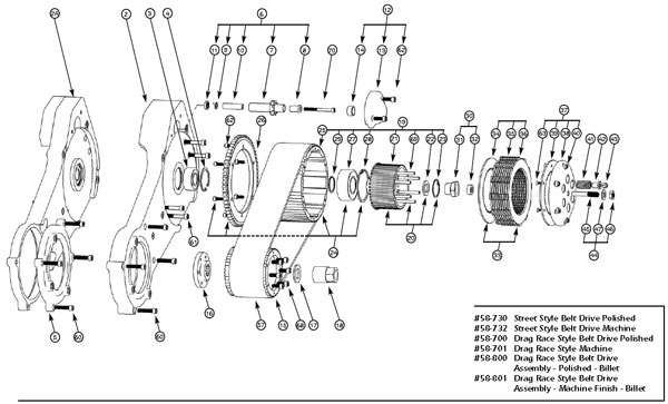 harley softail parts diagram