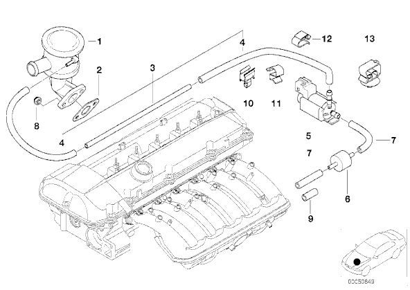 bmw 325ci engine bay diagram