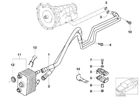 bmw engine coolant leak