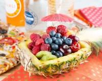 Pineapple Bowl Fruit Salad - xoxoBella