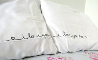 Valentine's 2014 Series: DIY Couples 'I Love You' Pillow ...