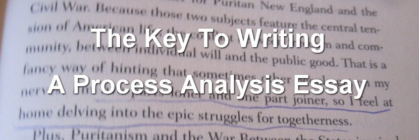 The Key To Writing A Process Analysis Essay XpertWriters