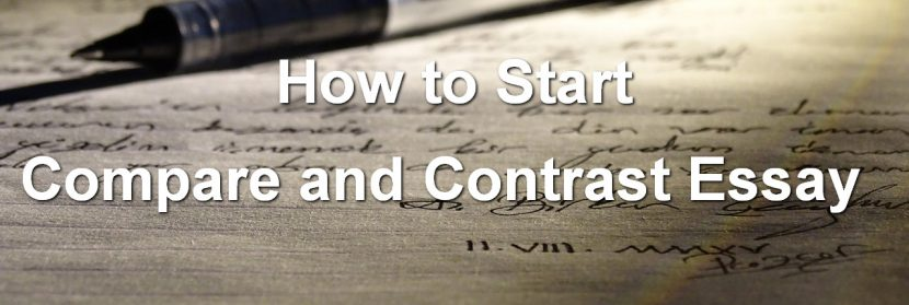 Tips How to Start a Compare and Contrast Essay XpertWriters