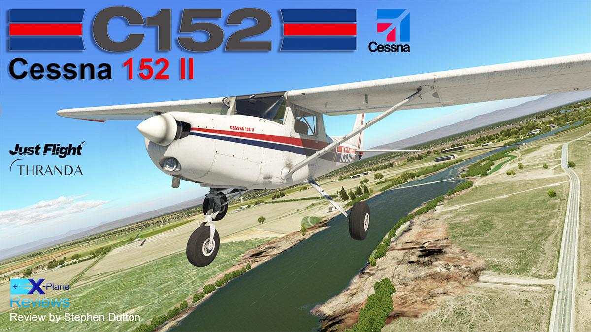 Cessna Plane Aircraft Review Cessna 152 Ll By Justflight Thranda General