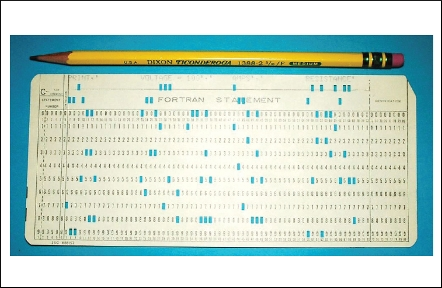 Punch cards vs Java - punch cards