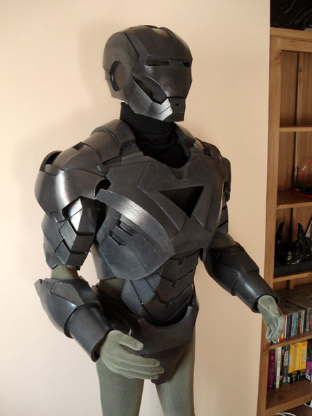 iron man suit template - the foam suit xrobots