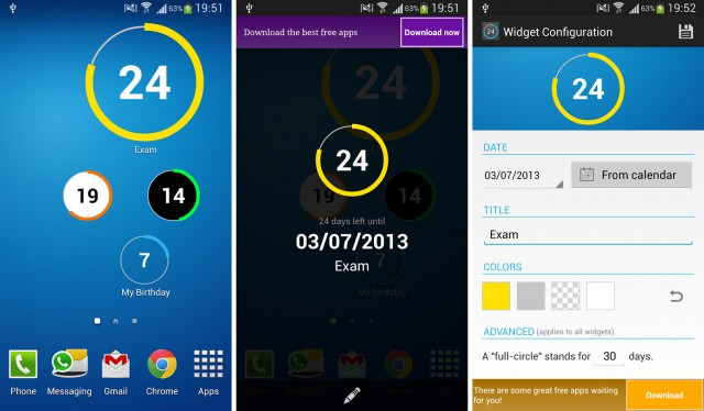 The 9 Best Countdown Apps and Widgets for Android XSLab