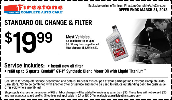 firestone fuel filter replacement cost