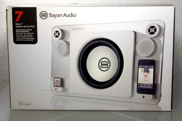 Bayan 7 iPod and iPhone Speaker Dock