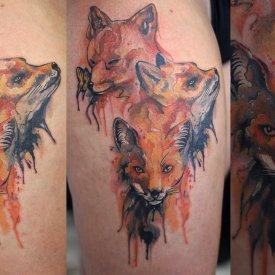 FOX WATTERCOLOR