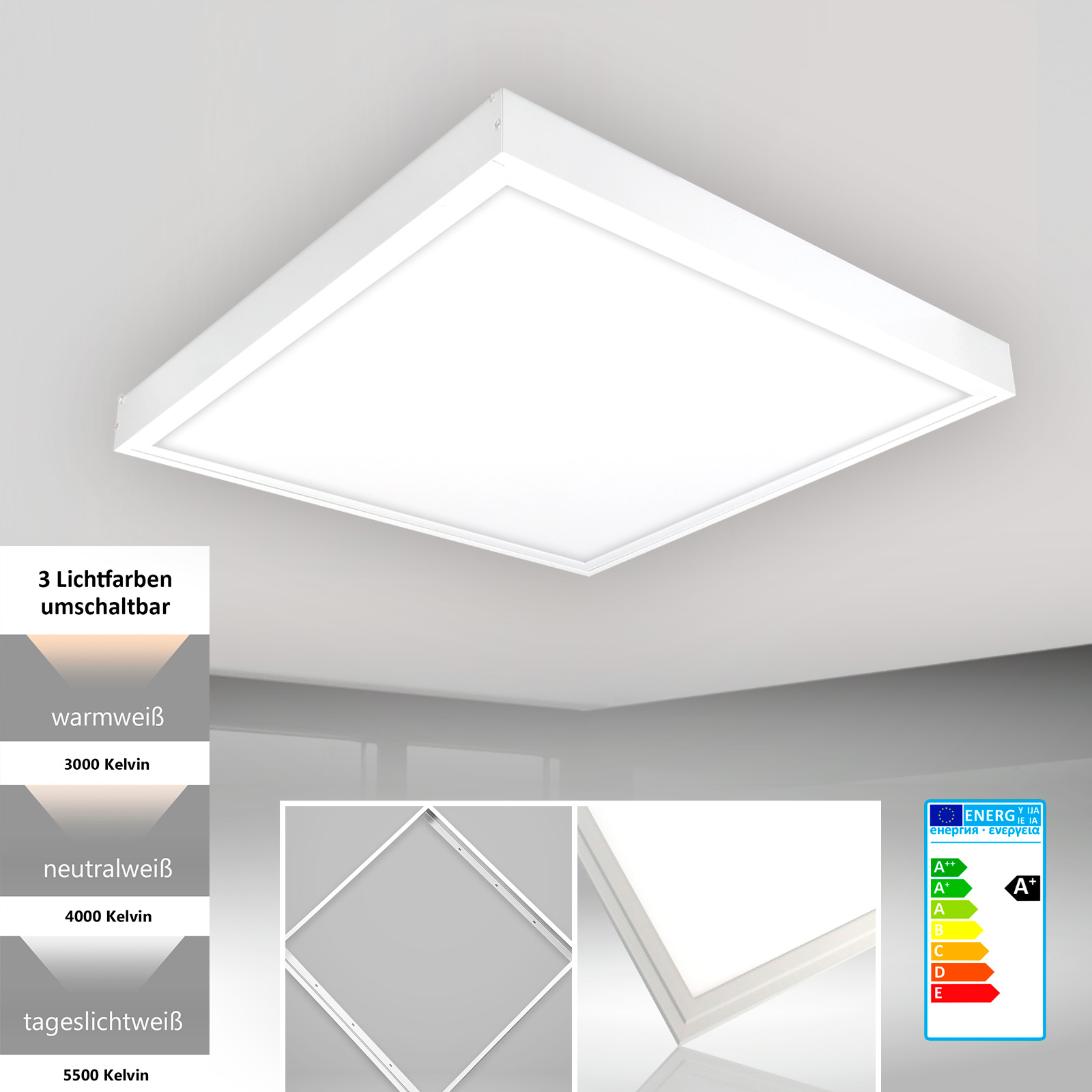 Led Panel Tageslicht Led Tageslicht Panel Universelles Led Panel All In One