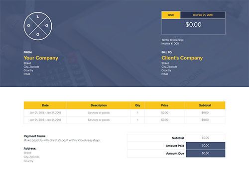 How to Make an Invoice - A Guide with Examples Xtensio