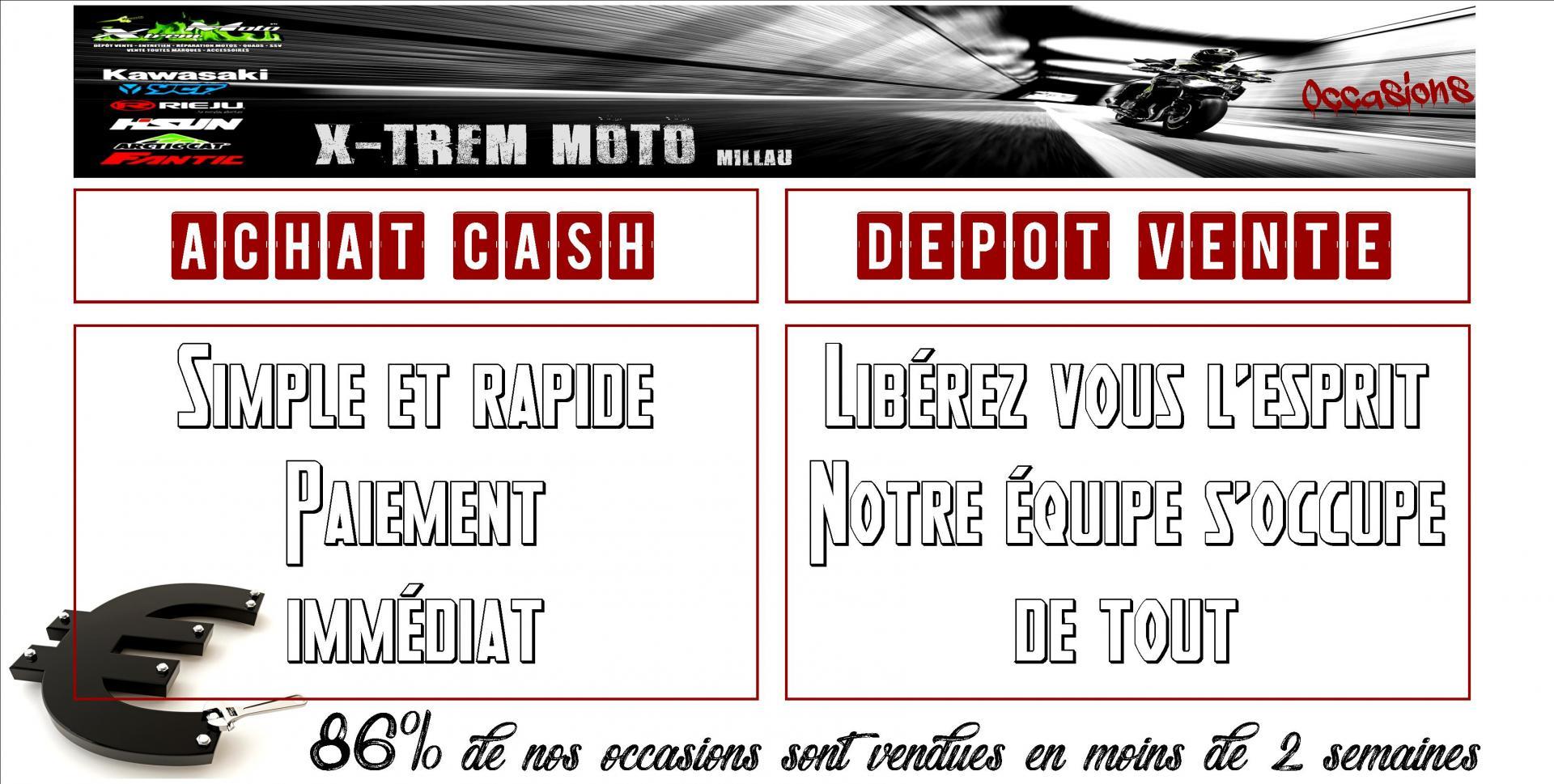 Xtrem Moto Millau Aveyron Occasions Achat Cash,Dépôt-Vente