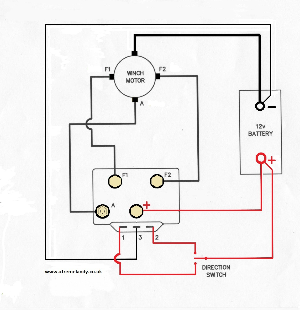 t max 8500 winch wiring diagram
