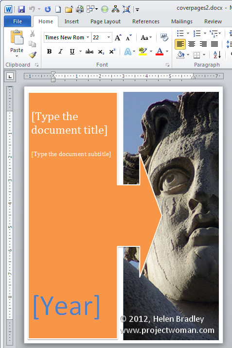 Download Microsoft Word Cover Page Templates - Unitedijawstates