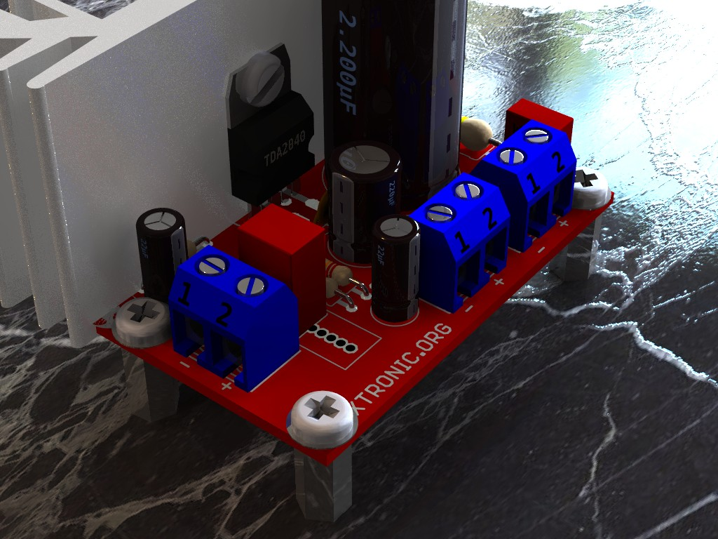 Auto Electrical Wiring Diagram Boomer Audio Power Amplifier Using Lm4906 Circuit Tda2040 20 Watts