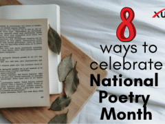 8 Ways to Celebrate National Poetry Month
