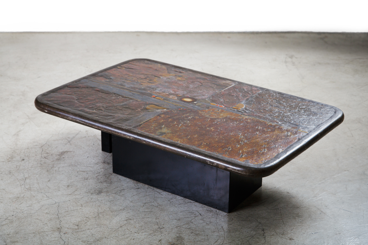 Sculptural Coffee Tables Paul Kingma 1931 2013 Xxe Siècle Mobilier D 39art