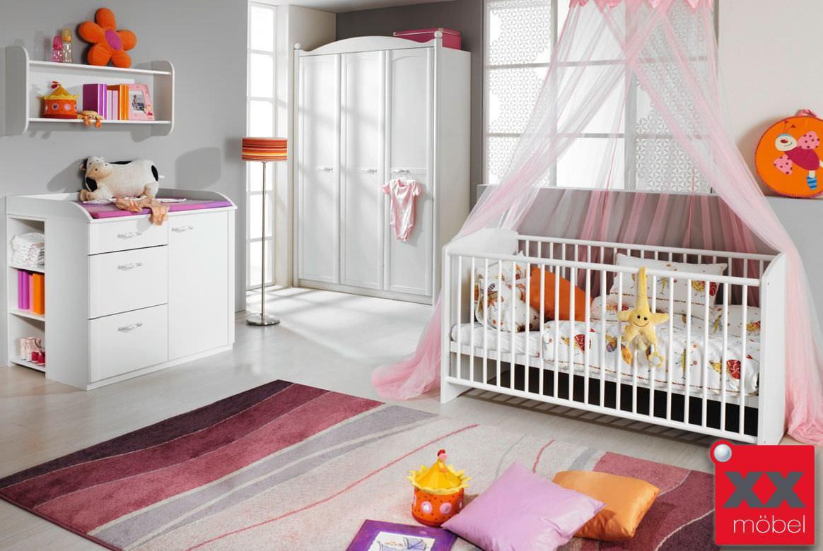 Baby Kinderzimmer Komplett | Ideen Baby Und Kinderzimmer Wandfarbe ...
