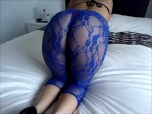 latina booty tight pantyhose