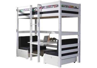 Ticaa Etagenbett Maxim : Buche massiv etagenbetten online kaufen möbel suchmaschine