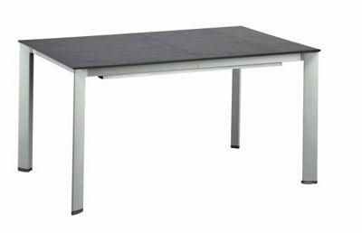 Gartentisch Metall Weiss Bistro Glastisch Metall 60x60cm Weiss