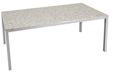 Gartentisch Aus Stein Granitplatte Metall Au Stein Holz Obi