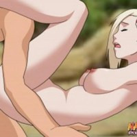 Ino having her first sex losing her virginity in public place