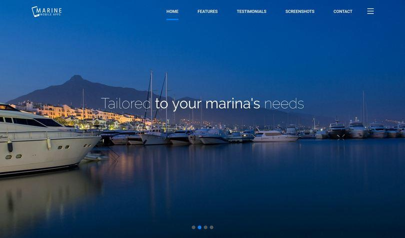 web developers, XYachtie, Marine, Mobile Apps, For yacht marinas
