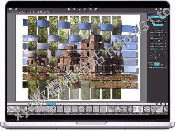 Jixipix Photo Formation x64 v1.0.6 英文正式版(PS照片拼圖分割效果軟體)