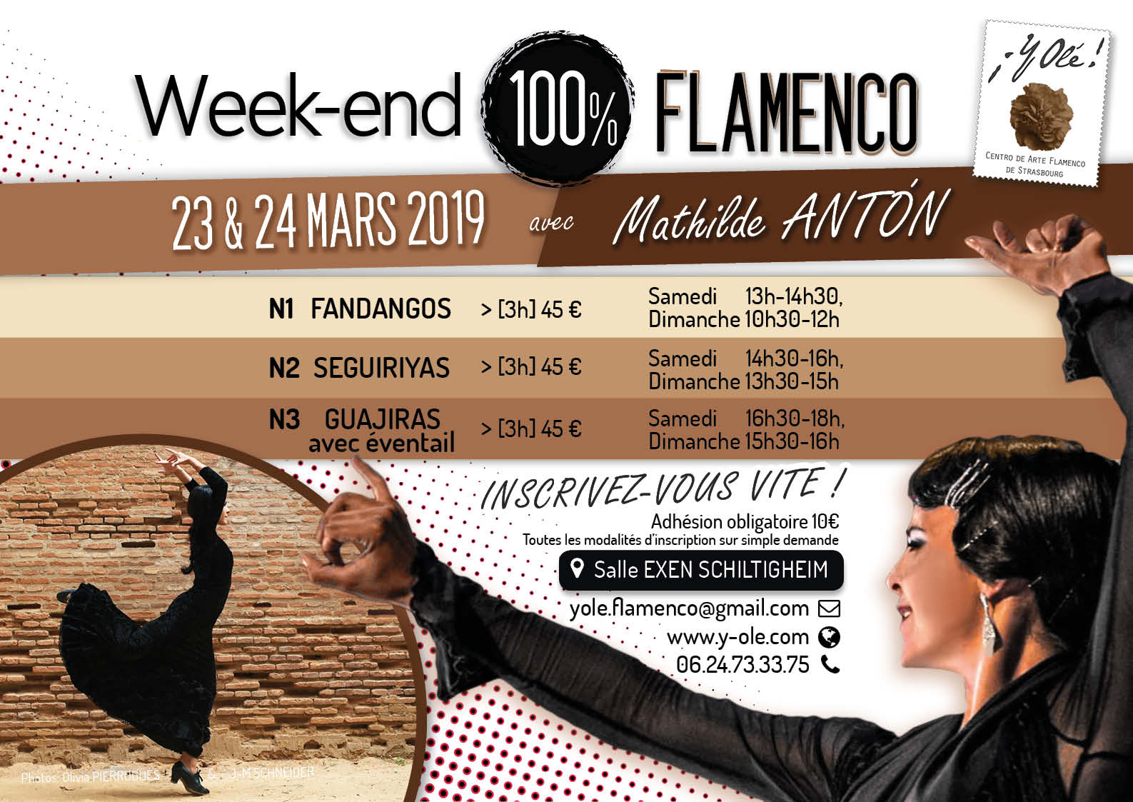 Flamenco Arte Y Ole Y Olé Stages