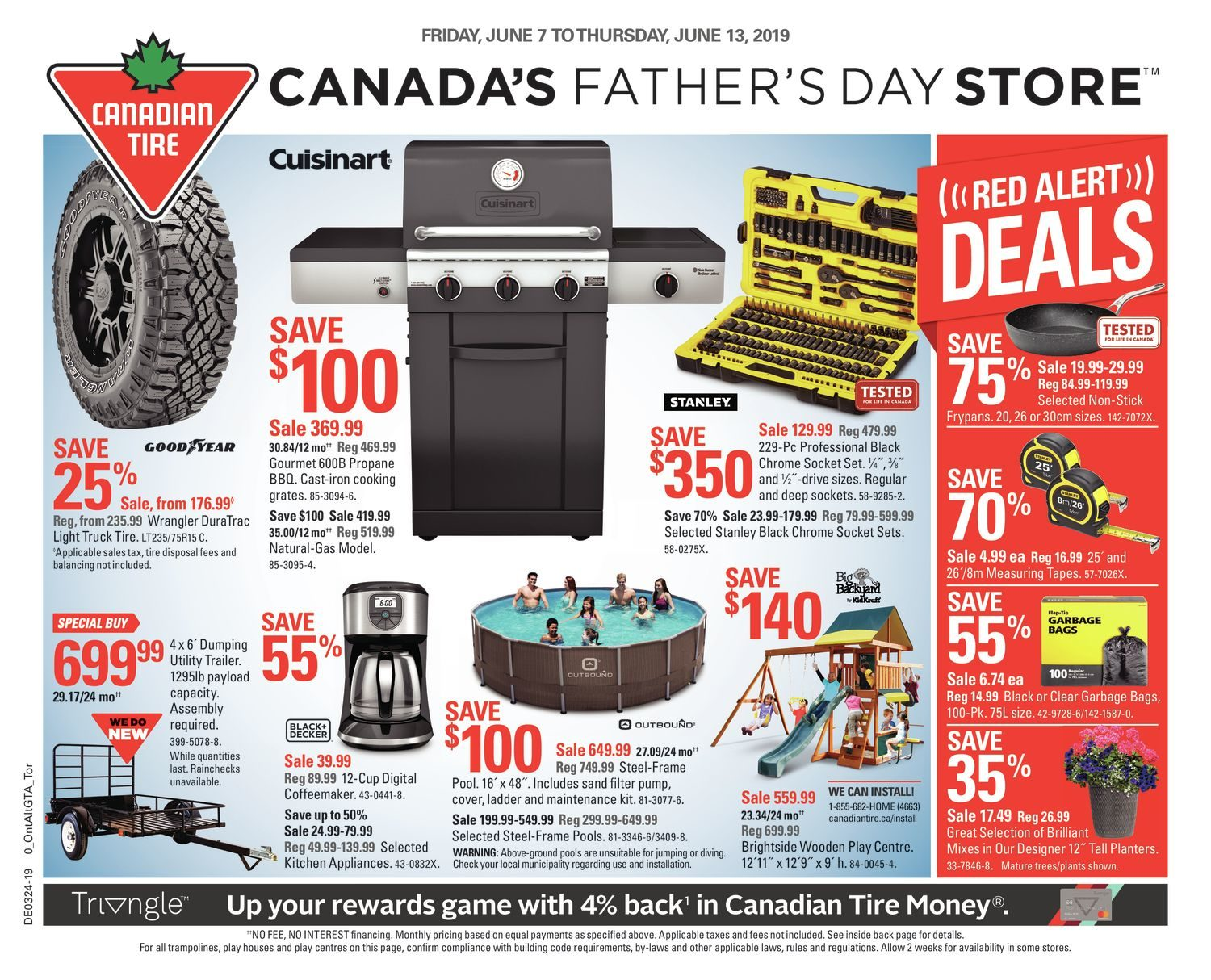 Sofa Legs Canadian Tire Canadian Tire Weekly Flyer Weekly Canada S Father S Day Store