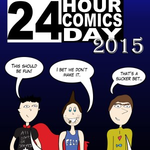 y2cl Presents Special: Jonly Nonly 24 Hour Comics Day 2015