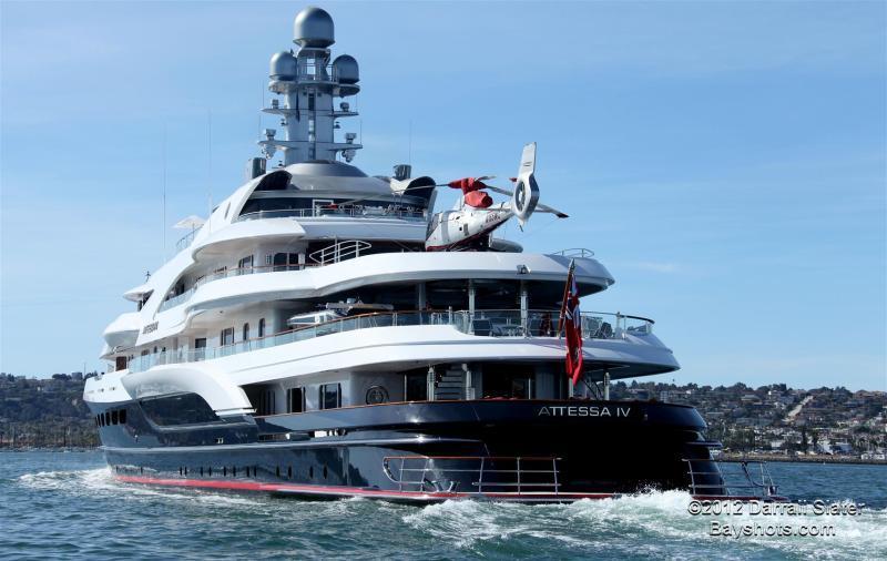 yacht attessa iv