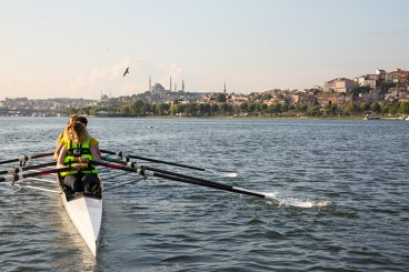 التجديف في اسطنبول