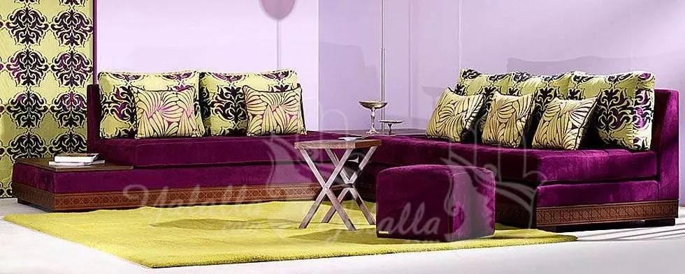 Salon Richbond | Double Rideaux Occultant Marron Beige - Salon ...