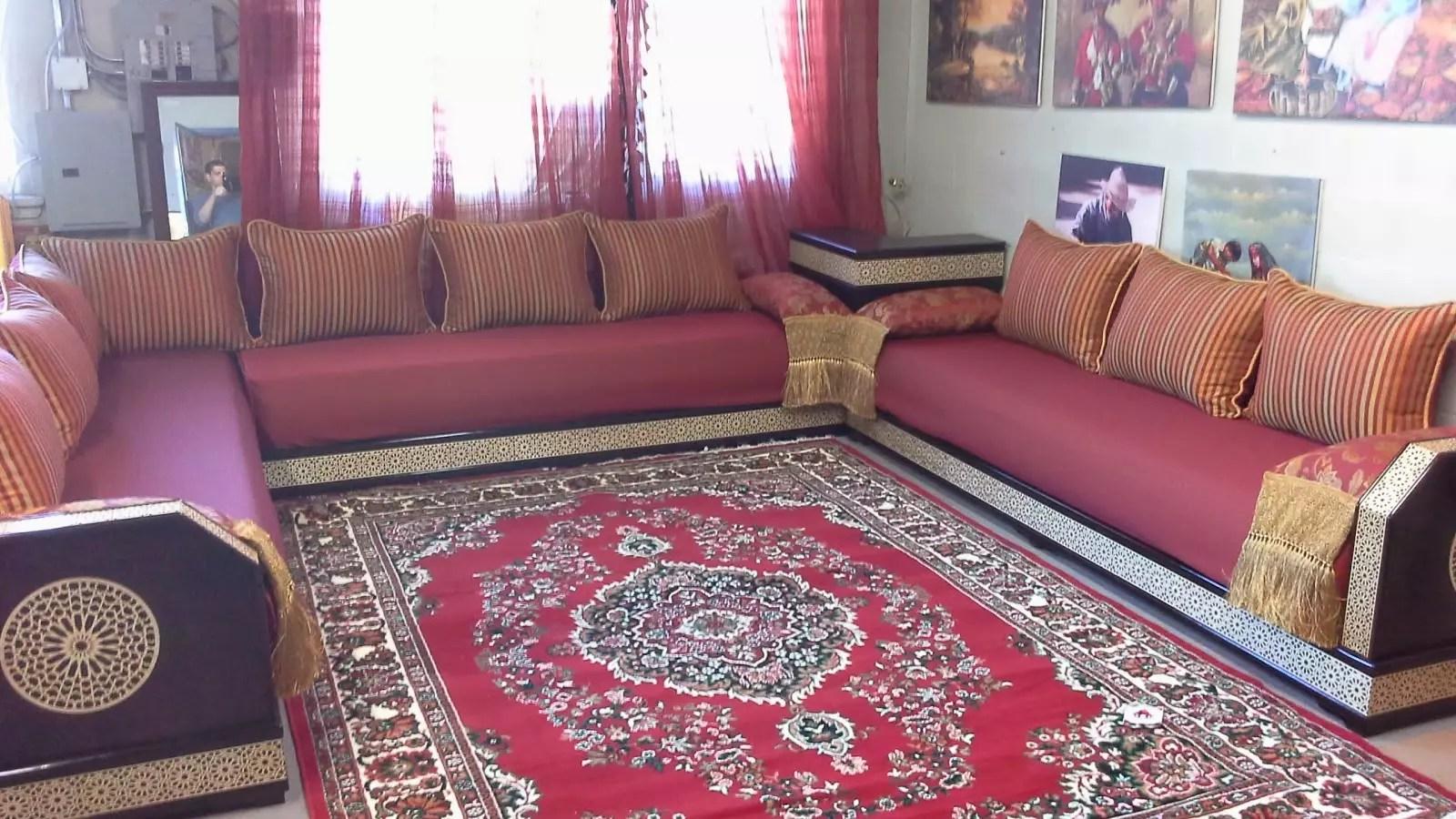 Miroir Pour Salon Marocain | Miroir Dans Salon Stunning Les ...