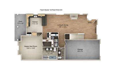 Townhome 1st Floor