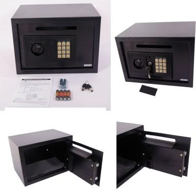 Electronic Digital Depository Safe Boxs Cash Slot Drop Off ...