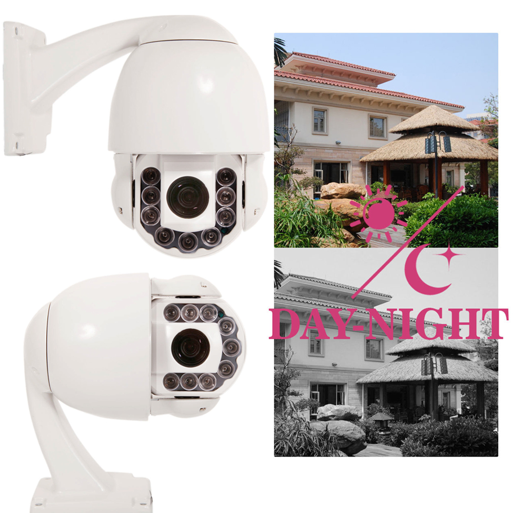Cctv Home Details About Outdoor Waterproof 1200tvl 30x Ptz 360dome Cctv Camera Home Surveilance Ir Cut
