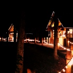 2日目 その7 昭和なリゾートホテルと幻想的な森のテラスと
