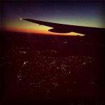 4日目 その7 新千歳空港の六花亭〆から夜景(日常)まで