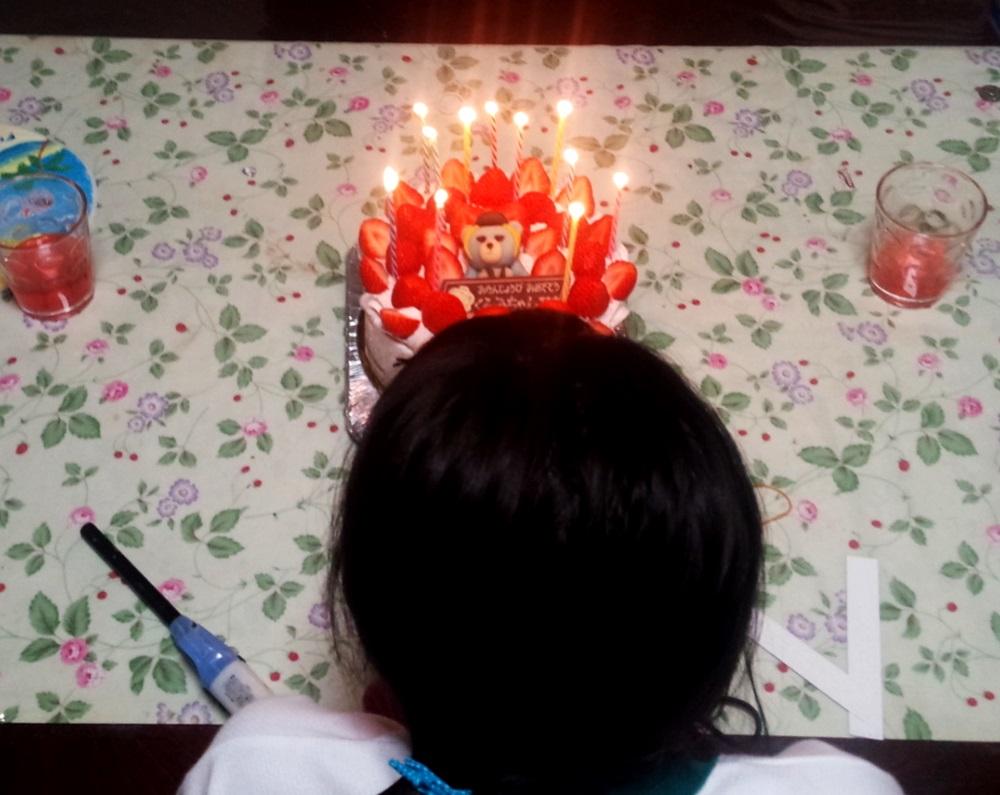 くるみ11歳バースデーケーキ