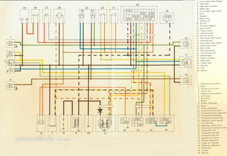 1979 Dt 250 Wiring Diagram Wiring Diagram
