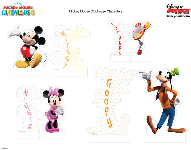 Decoration Minnie Gateau Anniversaire Personnages Mickey & Co
