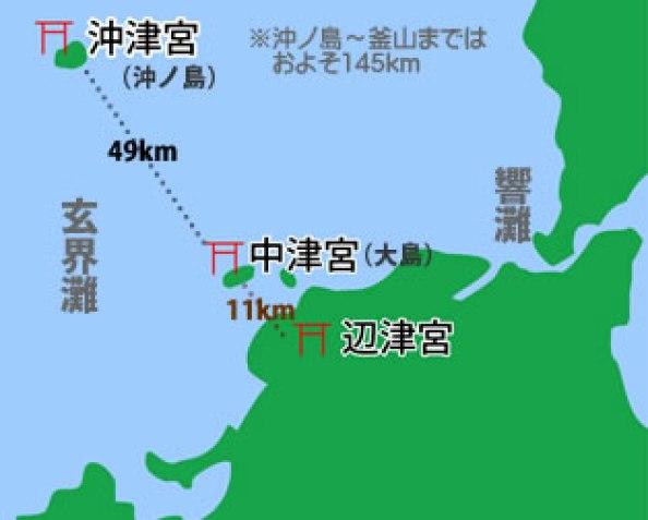 宗像大社地図ー1kani_map