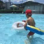市民プールに行きました。私の夏休み。 #342
